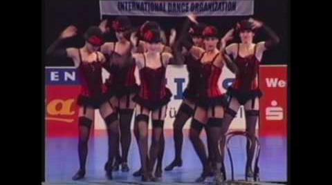Show tánc versenyzők